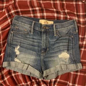 "Hollister ""High-Rise Short-Short""s"